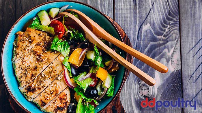 D&D Poultry Greek Chicken Salad