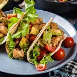 D&D Poultry Grilled Chicken Avocado Tortillas