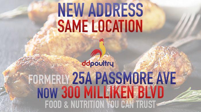 DDP - New Address Same Location
