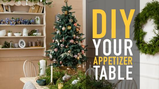 DIY Your Appetizer Table with D&D Poultry