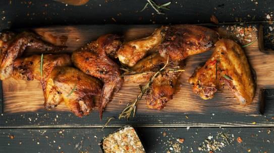 Spicy Oven Crisp Chicken Wings