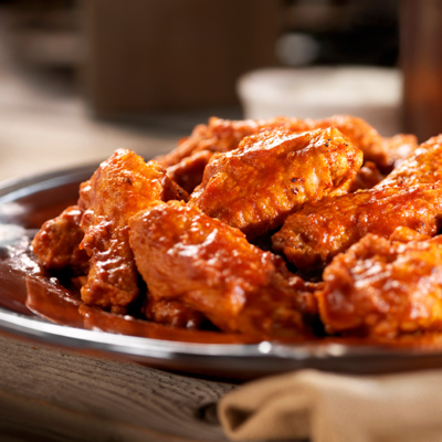 Hot Chicken Wings -Photographed on Hasselblad H3-22mb Camera